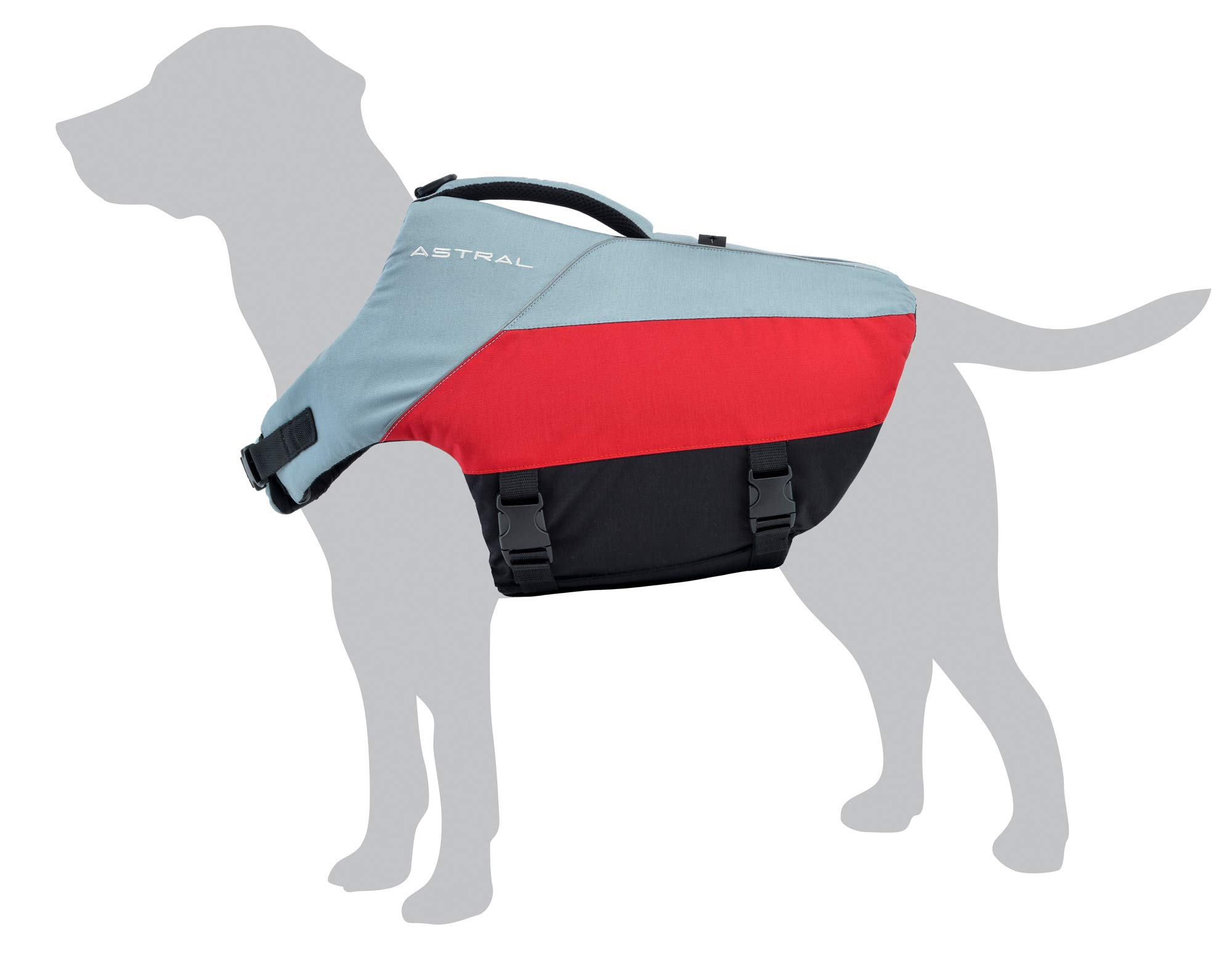 CDM product Astral BirdDog Dog Life Jacket PFD for Swimming and Water Play big image