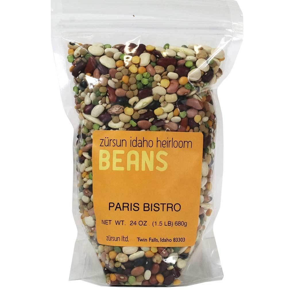 Zursun Idaho, Paris Bistro Bean Soup Blend - 1.5 lbs (2-PACK)