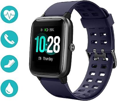 Huyeta Smartwatch Reloj Inteligente 5ATM Impermeable Pulsera ...
