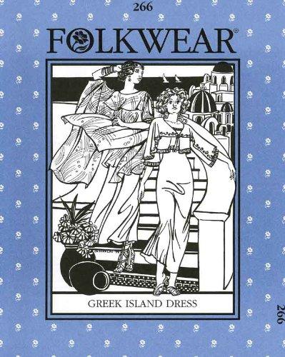 Patterns - Folkwear #266 Greek Island Dress (Greek Dress Pattern)