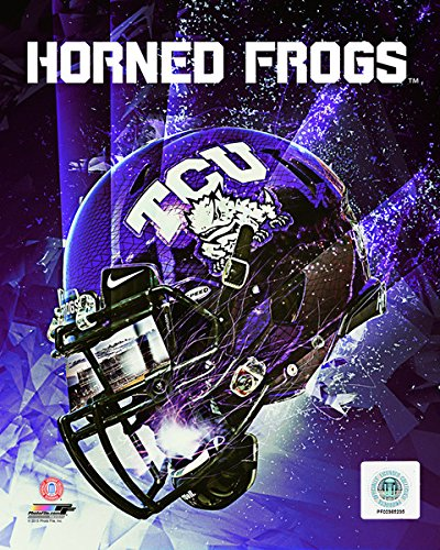 TCU Horned Frogs Football Helmet Composite Photo (Size: 8