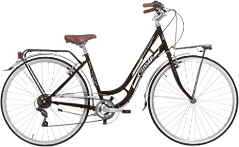 CINZIA Beauty Bicicleta de Paseo, Adultos Unisex, Negro, M: Amazon ...