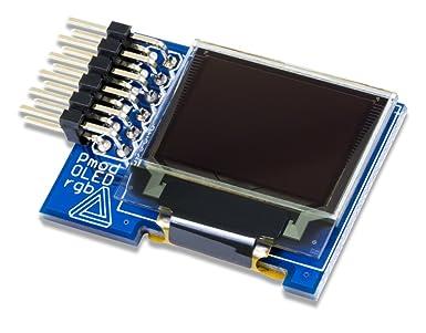 Amazon com: Digilent Pmod OLEDrgb 96 x 64 RGB OLED Display Breakout