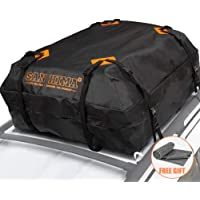 $57 » Rooftop Cargo Bag - (15 Cubic Feet) Heavy Duty Roof Bag - 100% Waterproof Excellent Quality…