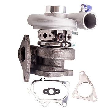 maXpeedingrods Turbo Turbocompresor de Motor Coche 20G EJ20 EJ25: Amazon.es: Coche y moto