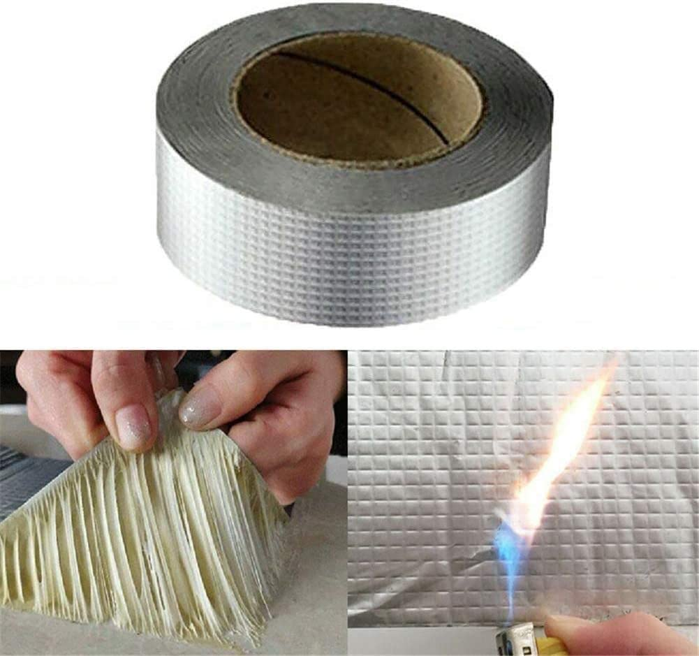 Strong Waterproof Tape Butyl Seal Aluminum Foil Magic Repair Adhesive Tape AHS