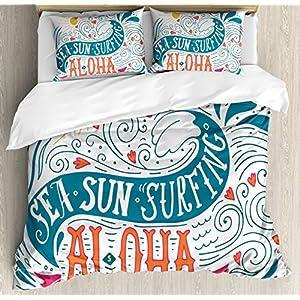 61U1sGpekFL._SS300_ 50+ Surf Bedding and Surf Comforter Sets