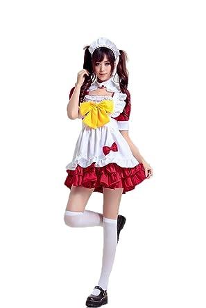 Moonight Damen-Kostüm Alices Wunderland Lolita Maid-Partei-Festival ...