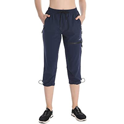 UPF 50 Libin Womens Hiking Pants Quick Dry Lightweight Stretch Cargo Pants Water Resistant
