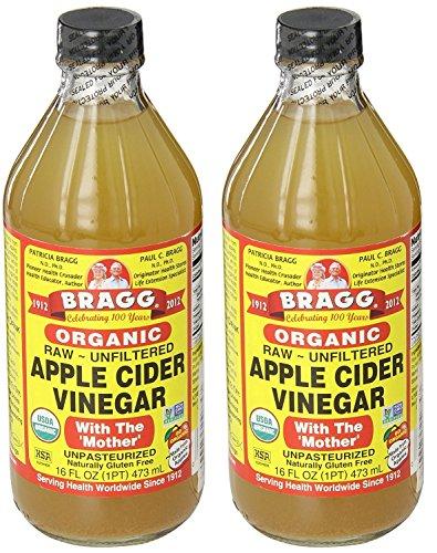 Bragg gqqYSt Usda Organic Raw Apple Cider Vinegar, 16 oz (2...