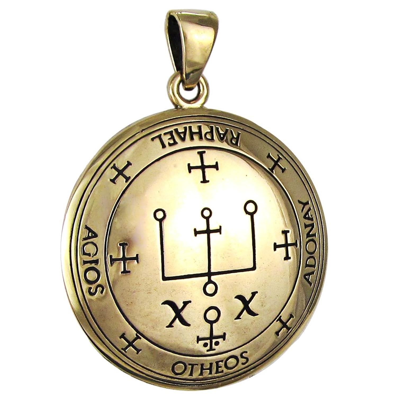 Amazon bronze sigil of archangel raphael enochian talisman amazon bronze sigil of archangel raphael enochian talisman jewelry buycottarizona Images