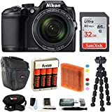 Nikon COOLPIX B500 Digital Camera w/Sony 32GB Memory Card & Secure Digital Reader USB Accessory Bundle
