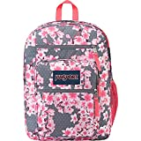 JanSport Unisex Big Student Diamond Plumeria Pink Backpack