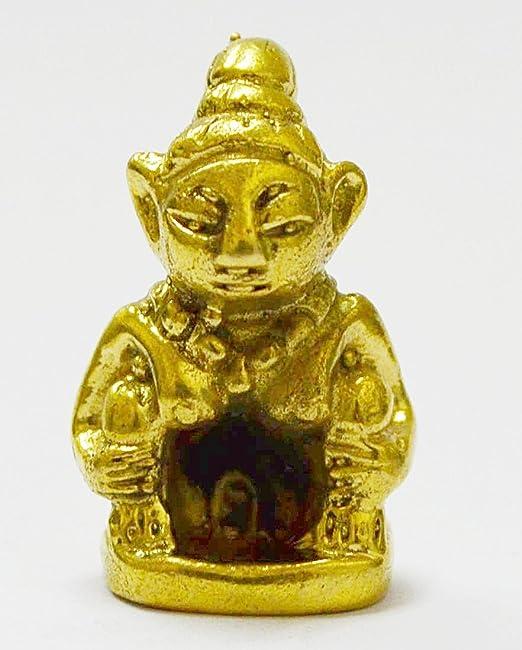 Thai Amulet Chinese Dragon Talisman Magic Small Charm Statue Feng Shui Powerful