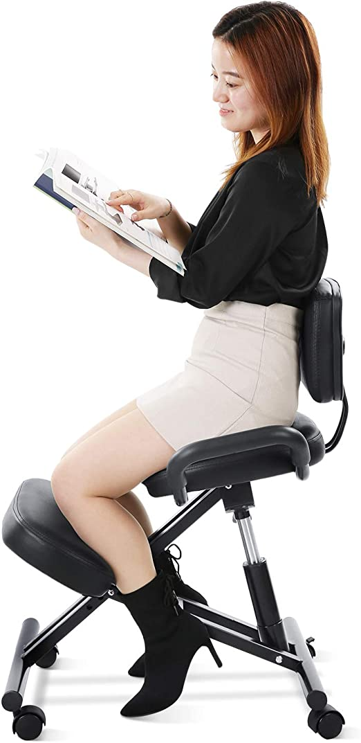 Maxkare Ergonomic Kneeling Chair Home Office Chairs - The Best Knee Chair For Short People