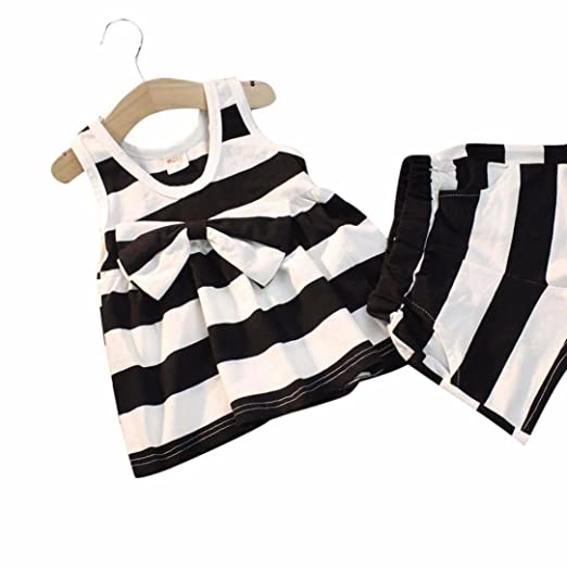 55be9c47691 Amazon.com  G-real Striped Outfits