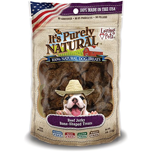 Loving-Pets-Products-Its-Purely-Natural-Beef-Jerky-Bone-Shaped-Dog-Treat-4-Ounce