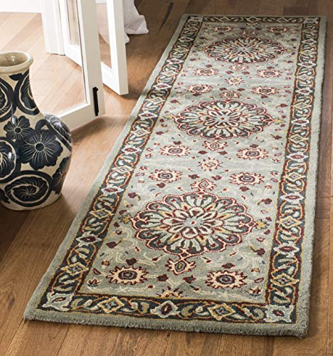 Safavieh Heritage Collection HG736A Grey and Charcoal Runner 2 3 x 8