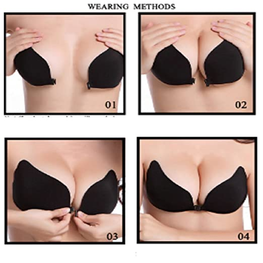 1f6afa09ff Image Unavailable. Image not available for. Color  Large  quot C quot  Cup  Sexy Bra. Adhesive Bra. Strapless Bra.Push