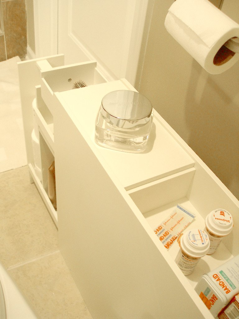 Proman Products Bathroom Floor Cabinet Wood in Pure White by Proman Products (Image #14)