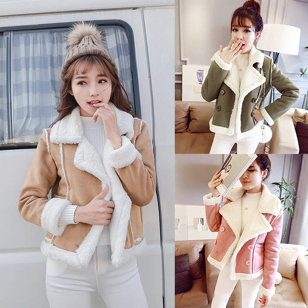 Women Plus Velvet Asymmetrical Zipper Short Locomotive Jacket Composite Coat