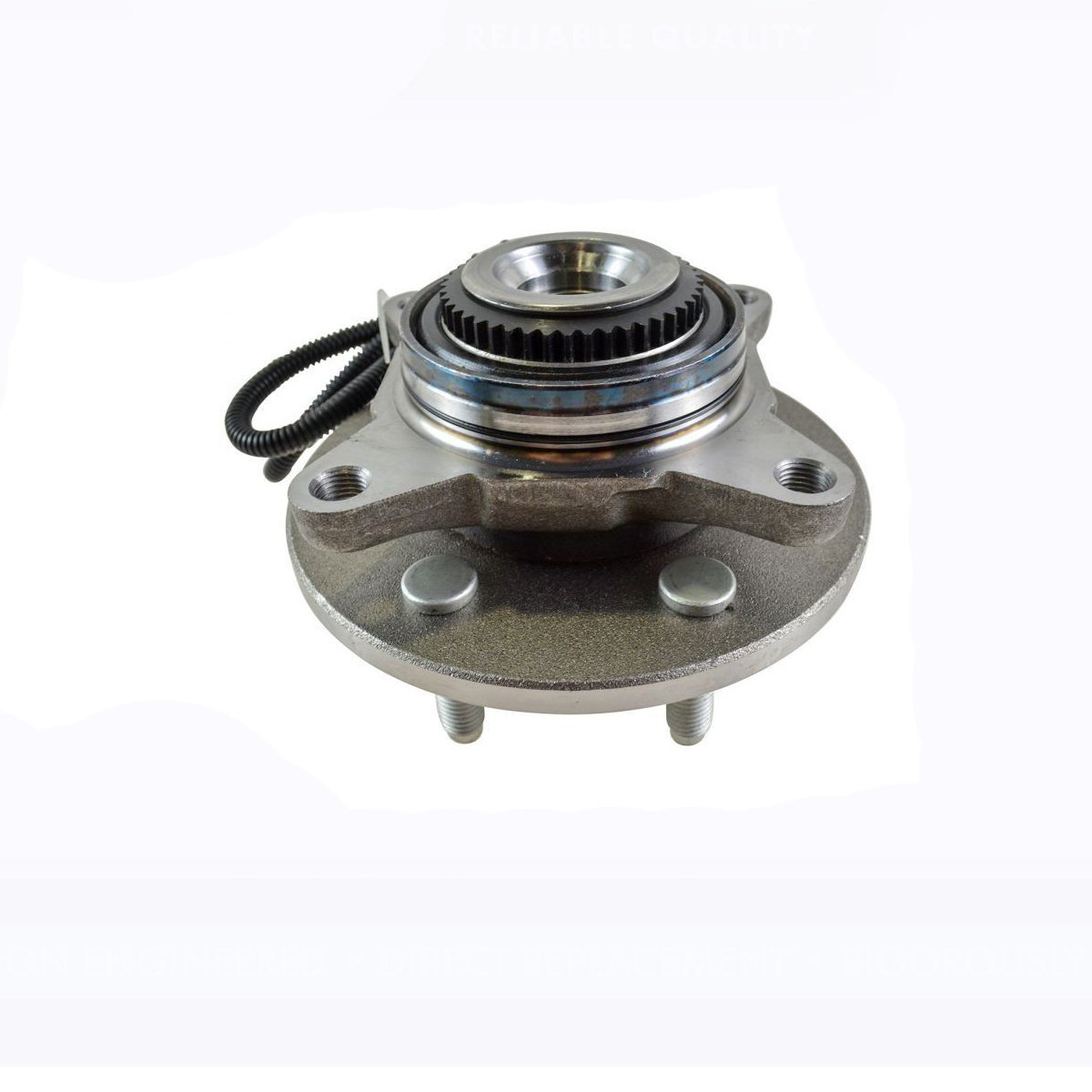 Detroit Axle - Front Wheel Hub and Bearing Assembly Driver Left or Passenger Right Side - 4x4 w/ABS 6 Stud; from 11/29/04-2005-2008 Ford F-150 4x4 - [2006-2008 Lincoln Mark LT]