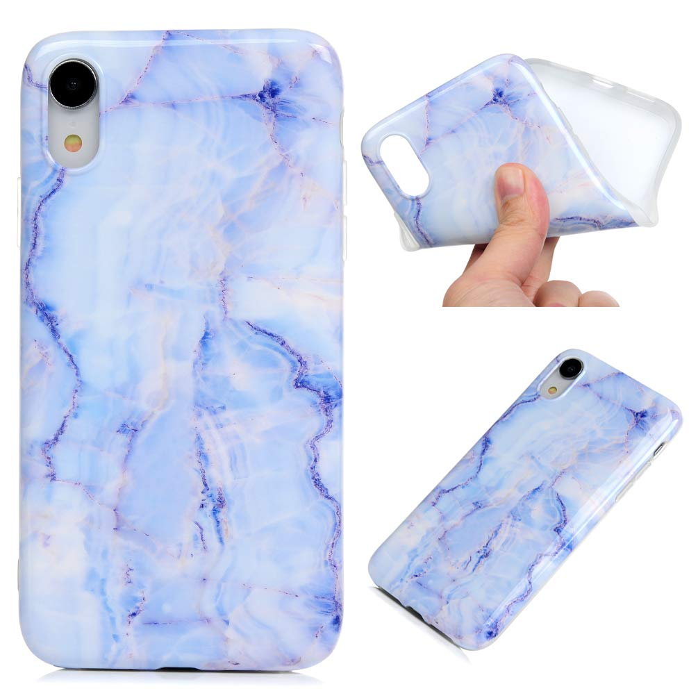 iPhone XR Case, Clear Slim Phone Cover Soft Flexible TPU Shockproof Full Body Protective Shield Anti-Scratch Rubber Bumper Cases for iPhone XR