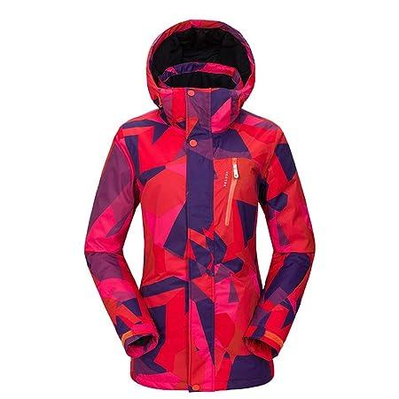 Traje de esquiar Chaqueta impermeable de la capa del snowboard de ...