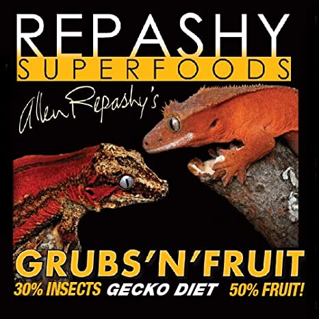 Repashy Grubs 'N' Fruit Crested Gecko Diet Repashy Ventures Inc.