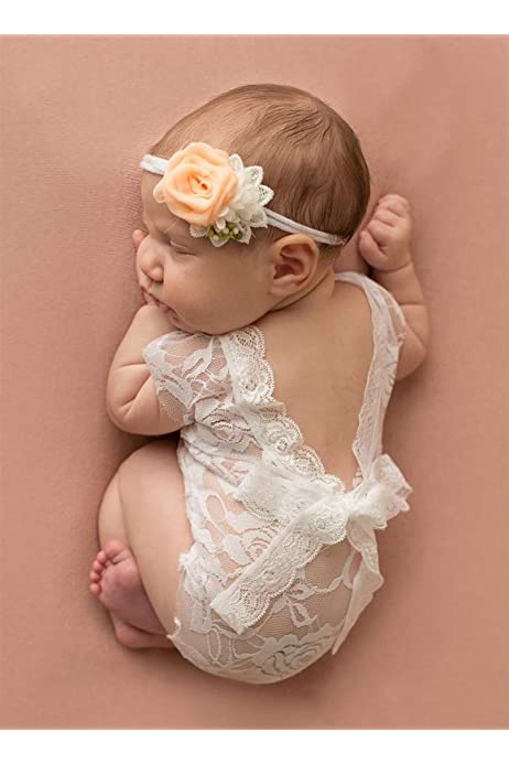 Newborn Set Newborn Props Photo Outfit Baby Body Baby Photography Prop Newborn Accessories Newborn Hair Band