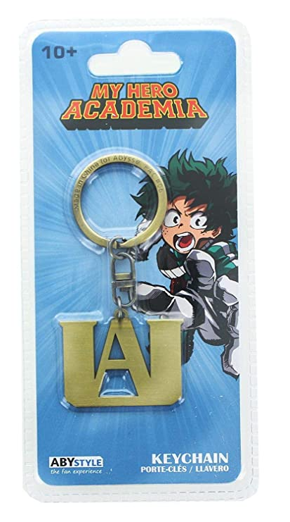 Abysse America, INC My Hero Academia UA High School Logo Metal Keychain