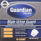Guardian for Men, Male Urine Guard, 30ct