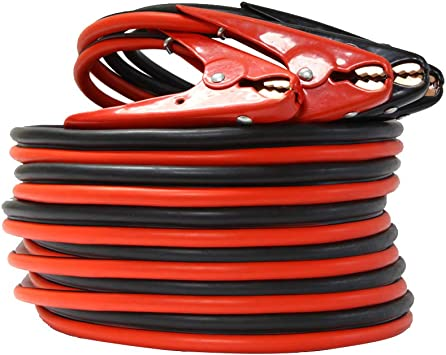 Heavy Duty 2Gauge 20Ft 800A Booster Battery Jumper Cables kit Professional Grade