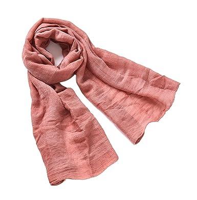 Mode Enfant Garçons Et Filles Foulard Couleur Unie Chaud Doux Echarpe Rouge  Brique Taille Unique ba755dd29d0