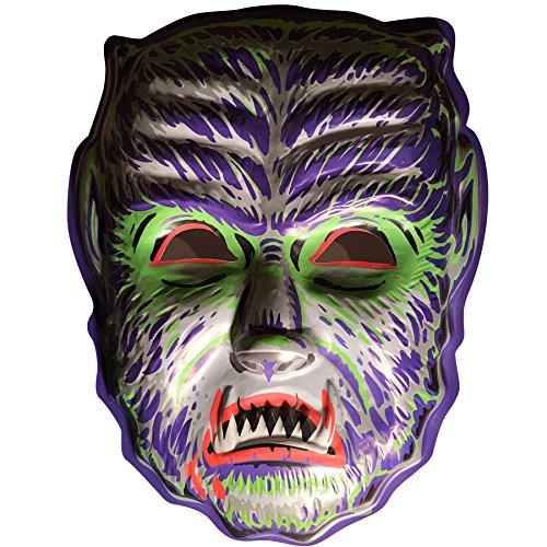 Retro-a-go-go! Midnight Man Wolf Vac-Tastic Plastic Mask Wall Decor]()