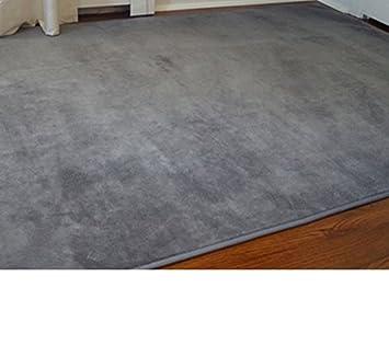 Microfiber Dorm Rug   Steele Gray   6 X 9