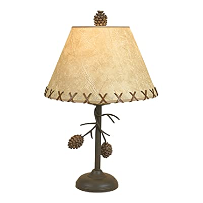 Pine Cone Branch Table Lamp: Home Improvement
