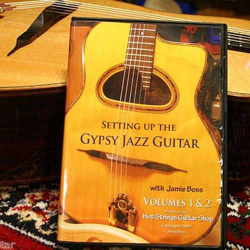 Setting up the Gypsy Jazz Guitar by Jamie Boss