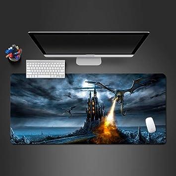 jasonding Alfombrilla De Ratón 90 * 30Cm Dragon Game Mouse Pad ...