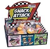 Raymond Geddes Snack Attack 3D Scented Eraser Display, 36 Pack (68373)