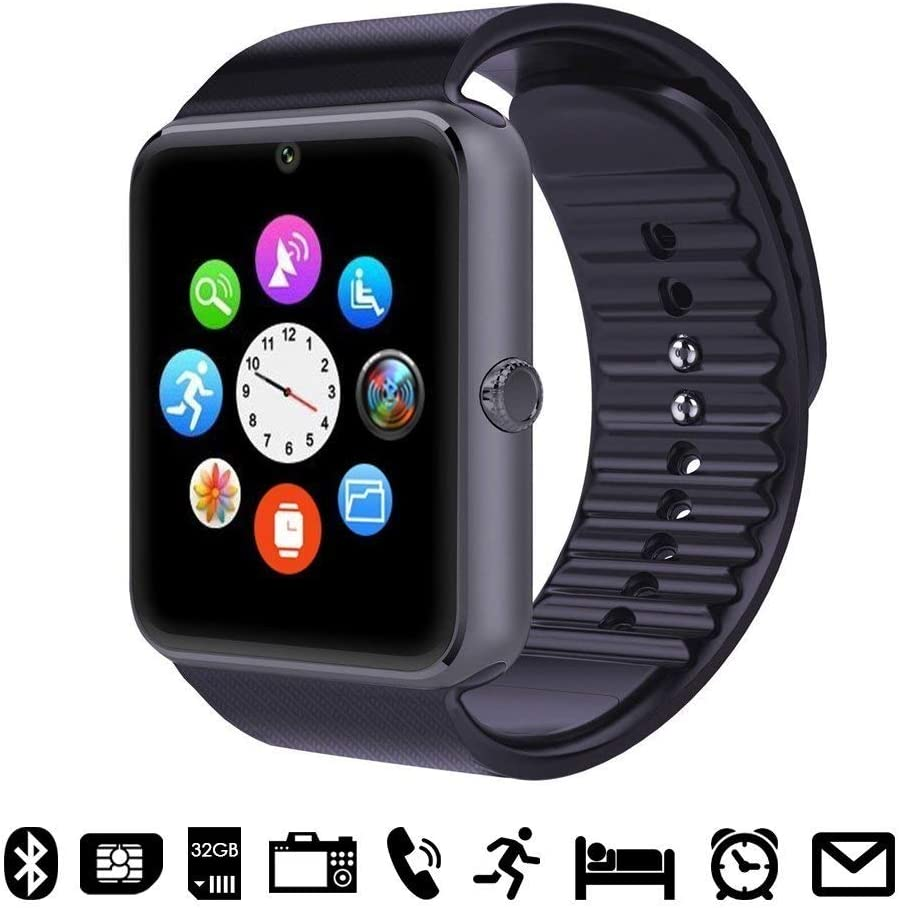 Smartwatch Android iOS Smart Watch Teléfono Touch con SIM Slot ...