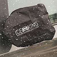 IceKing Huge Snow and Ice Mirror Cover Universal Size Fits Cars SUV Truck Van