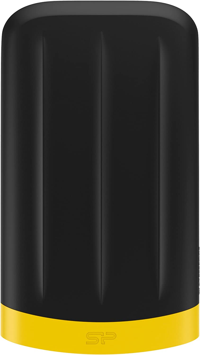 Silicon Power 1TB Rugged Armor A65 IP67 Shockproof/Waterproof USB 3.0 2.5-inch Military Grade Portable External Hard Drive for PC, Mac, Xbox One and Xbox 360, Black