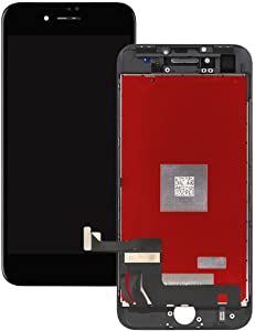 for iPhone 7 4.7 inch LCD Display Screen Replacement Digitizer Assembly Touchscreen with 3D Touch in Black(with Tool Kits)