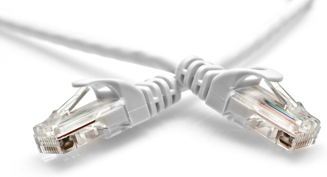 Computer Networking Cord 6 Feet BlueRigger Cat5e RJ45 Network Ethernet Patch Cable