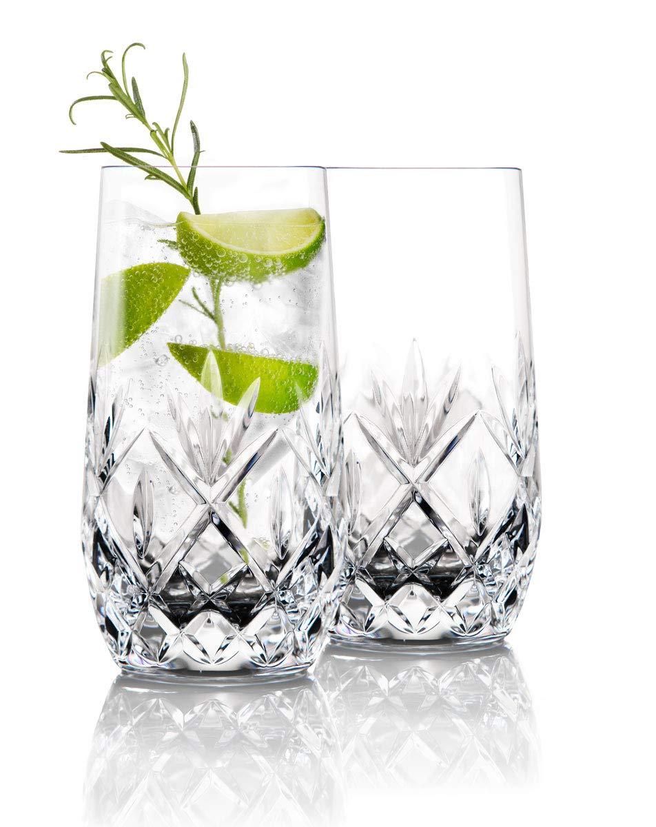 Waterford Crystal Gin Journeys Huntley Hiball Glasses, Pair
