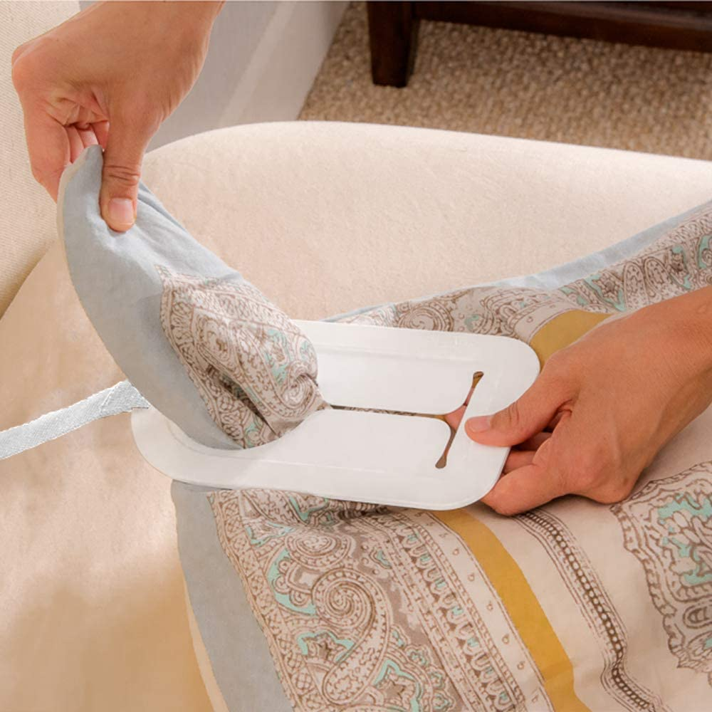 Mind Reader Duvaid The Easy Duvet Cover Changing Accessory - Change Your Duvet Cover by Yourself in Seconds - No Assembly Required