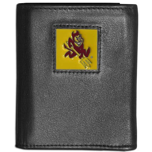 Arizona State Credit Card - NCAA Arizona State Sun Devils Leather Tri-Fold Wallet