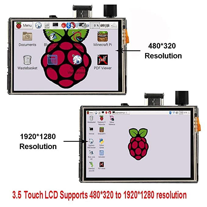 OSOYOO LCD Touch Screen 3 5