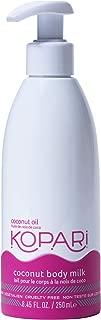 product image for Kopari Coconut Body Milk Moisturizing Lotion | Made with Organic Coconut Oil - 8.45 Oz Pump Bottle